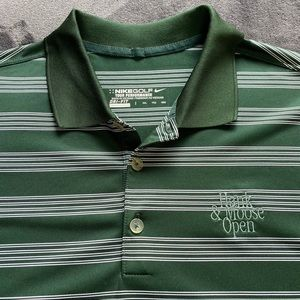 Nike Golf Tour Performance S/S Shirt XXL Green EUC